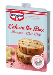 Cake in the Box Banana-Choc Chip