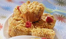 Himbeere-Streusel-Muffins