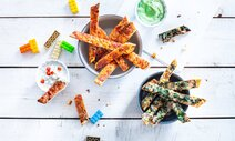Pizza-Sticks mit Dip